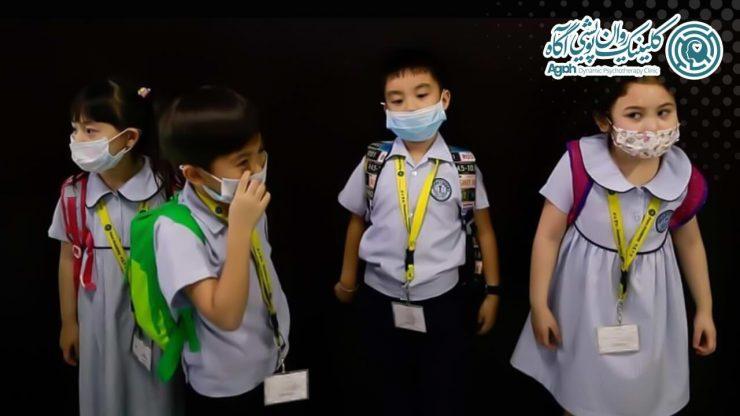 نکاتی برای مراقبت از سلامت روان کودکان در برابر ویروس کرونا